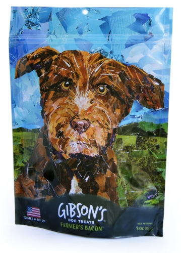 Gibson's Farmer's Bacon Jerky Dog Treats