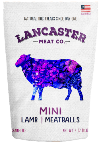Lamb Mini-Meatballs Dog Treats by Lancaster Meat Co.
