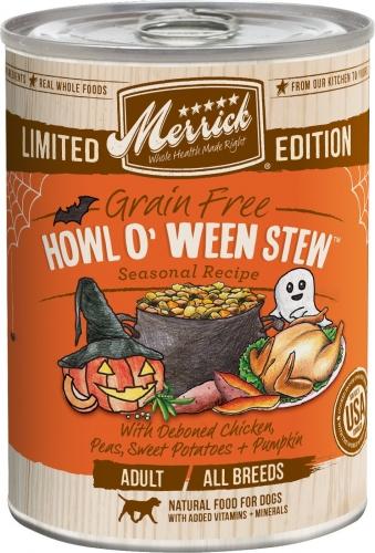 Merrick Seasonal Grain-Free Howl O' Ween Stew Canned Dog Food