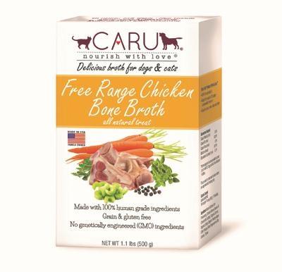 Caru Free Range Chicken Bone Broth for Dogs & Cats