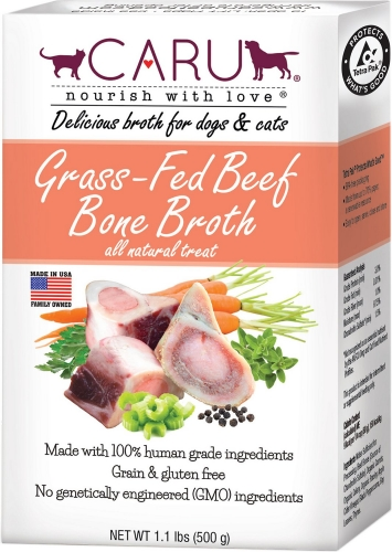 Caru Grass-Fed Beef Bone Broth for Dogs & Cats