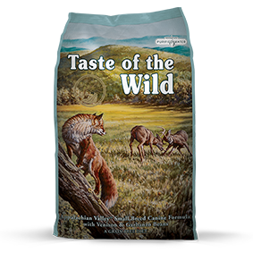 Taste of the Wild Appalachian Valley™ Small Breed Canine Formula with Venison & Garbanzo Beans