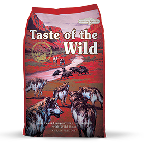Taste of the Wild Southwest Canyon® Canine Formula with Wild Boar