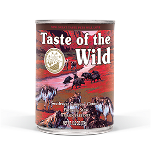 Taste of the Wild Southwest Canyon® Canine Formula Stew