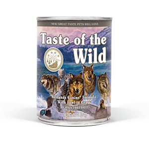 Taste of the Wild Wetlands Canine® Formula with Fowl in Gravy