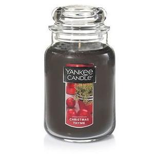 Christmas Thyme Jar Candle