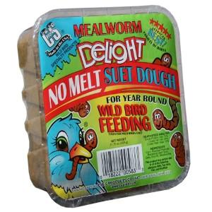 C & S Mealworm Delight No Melt Suet Dough