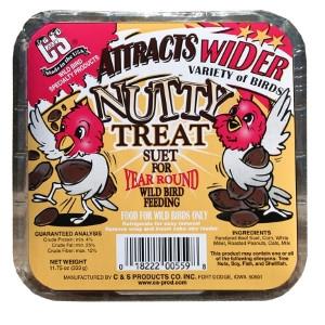 C & S Suet Nutty Treat