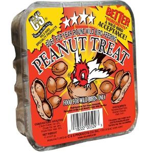 C & S Suet Peanut Treat