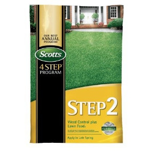 Scotts® STEP® 2 Weed Control Plus Lawn Food 2