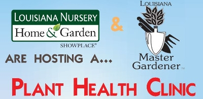Plant Health Clinic on Saturday, May 6th