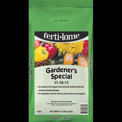 Gardener's Special, 11-15-11