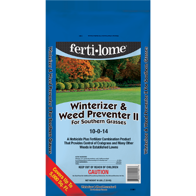 Winterizer & Weed Preventer II With Dimension for Southern Grasses