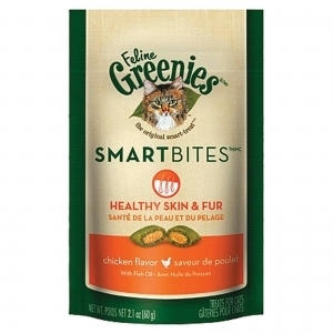 Feline Greenies Smartbites - Healthy Skin & Fur