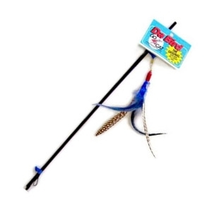 GoCat Da Bird Rod and Bird Feather Cat Toy