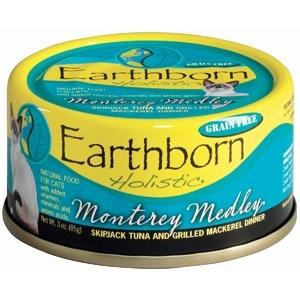 Earthborn Holistic Monterey Medley Skipjack Tuna and Grilled Mackerel Dinner