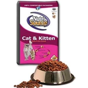 Nutri Source Cat & Kitten Chicken & Rice Formula Dry Food