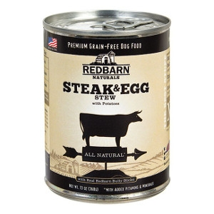 Redbarn Steak and Egg Stew Canned Dog Food