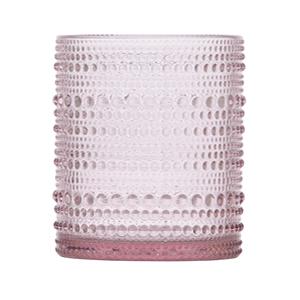 Pink Carousel Goblet, 11 oz.