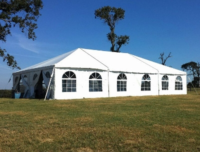Tent with Window Walls, 30' x 50'