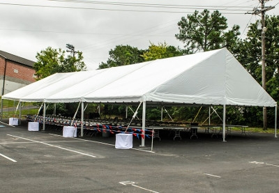 Gable End Frame Tents, 40' x 80'