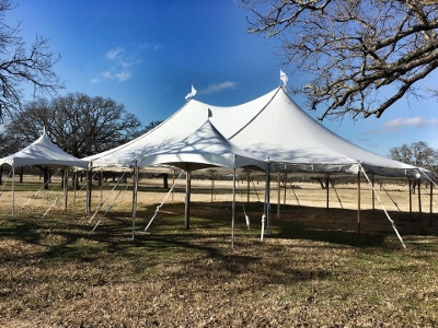 44' x 63' Sailcloth Tents