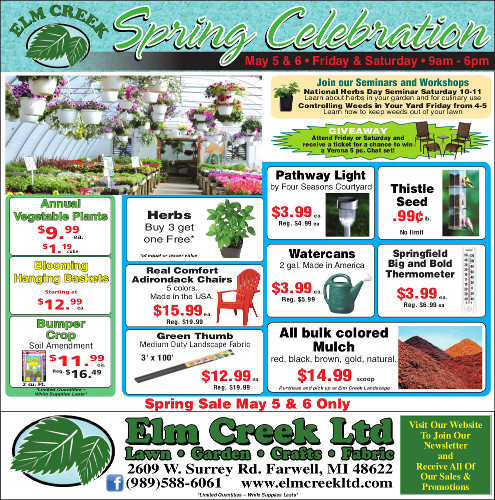 View our Spring Celebration Savings