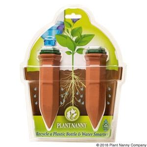 Plant Nanny Plastic Bottle Stake Plant Waterer