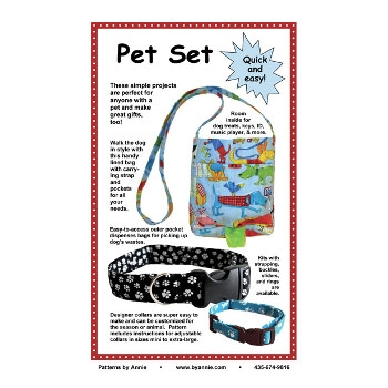 Pet Set Project Pattern by Annie