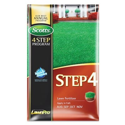 Scotts Lawn Pro Step 4: Fall Lawn Fertilizer, Covers 5,000-Sq.-Ft.