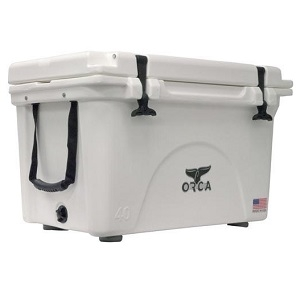 Orca 40 Quart Cooler, White