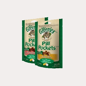 Feline Greenies Pill Pockets - Salmon - 1.6 oz.