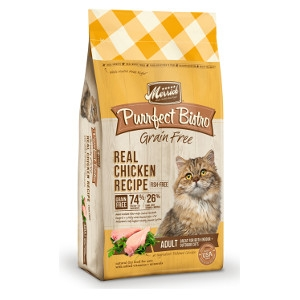 Merrick Purrfect Bistro Grain Free Real Chicken Recipe 4 lb.