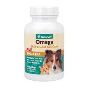 Omega Skin & Coat Gel Caps- NaturVet