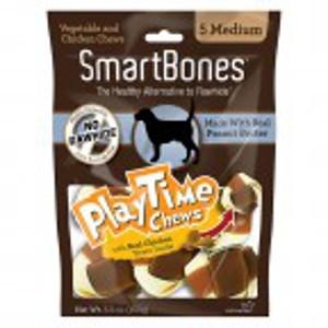 Peanut Butter Playtime Innovative Chews- Medium 10pk