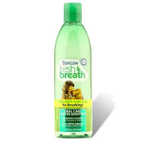 Tropiclean Fresh Breath Water Additive 32 oz.