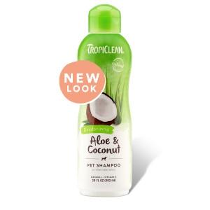 Tropiclean Aloe and Coconut Pet Shampoo- 20 oz.