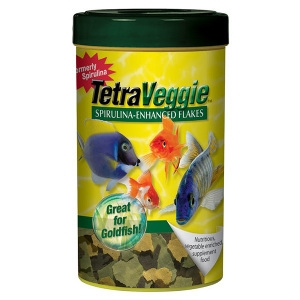 TetraVeggie Tropical Fish Food Flakes