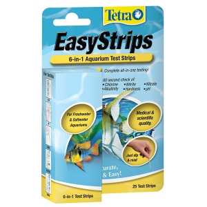 Tetra EasyStrips 6 in 1 Aquarium Test Strips Kit