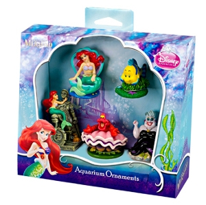 Little Mermaid 5 pc. Mini Resin Set