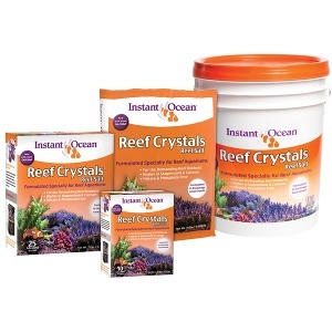 Instant Ocean Reef Crystal Aquarium Reef Sea Salt