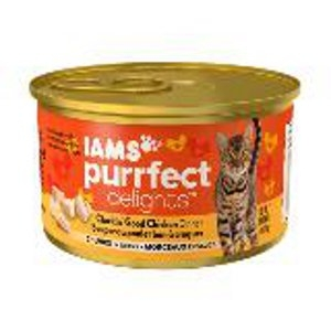 IAMS™ PURRFECT DELIGHTS™ CLUCKIN' GOOD CHICKEN DINNER CHUNKS IN GRAVY