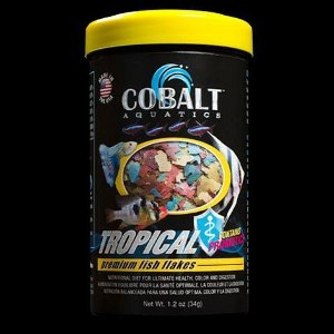 Cobalt Aquatics Tropical Fish Flakes