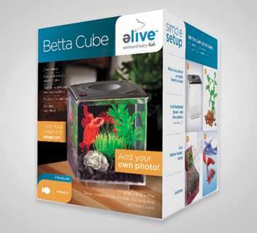 Elive Betta Cube