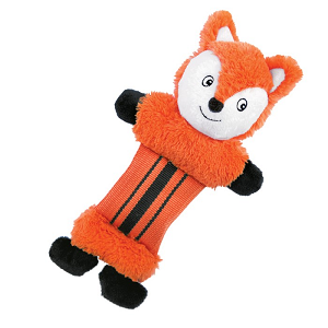 Fire Hose Friends Dog Toy - Fox
