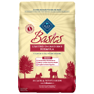 BLUE Basics® For Adult Dogs - Salmon & Potato Recipe