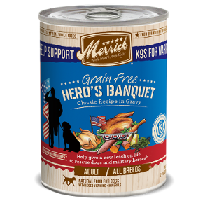 Grain Free Hero's Banquet Recipe in Gravy