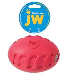 JW Silly Sounds Spiral Football - Medium
