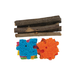 Combo Chews - Apple Wood & Crispy Puzzle