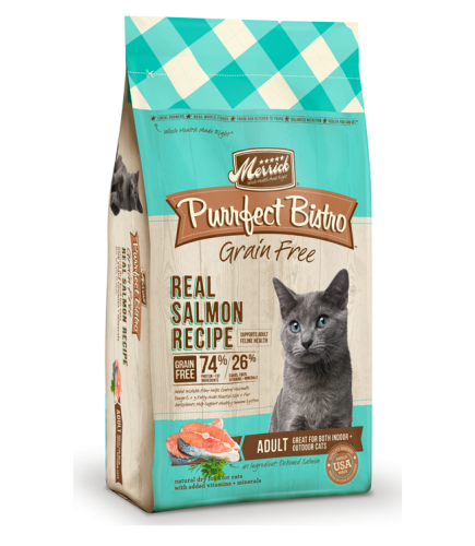Purrfect Bistro Grain Free Real Salmon Recipe